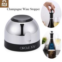 Kreis Freude Funkelnden wein mini champagner Stopper Mini Wein Stopper Rotary schloss DesignVacuum Effiziente Erhaltung