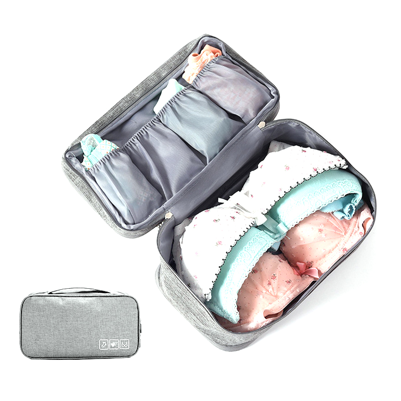 Waterproof Travel Bag Underwear Bra Storage Makeup Portable Bag Organizer Bag Unisex Casual Cosmetic Zipper Storage Makeup Cloth