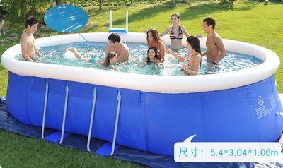 Piscina inflable de alta calidad para niños y adultos uso en el hogar remo piscina de gran tamaño inflable redondo piscina para adultos 4