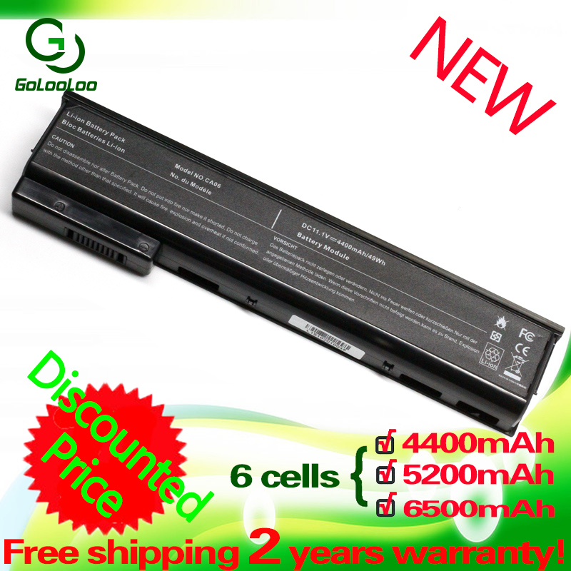 Golooloo 6 Cells Laptop Battery For HP ProBook 650 CA06 640 645 650 655 G1 G0 CA09 CA06XL HSTNN-DB4Y HSTNN-LB4X HSTNN-LB4Y