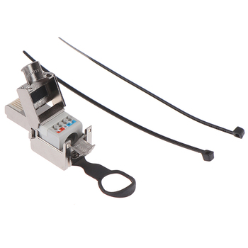 8P8C RJ45 Connector Compatible With Cat6/Cat6A/Cat7/Cat8 Termination Plug