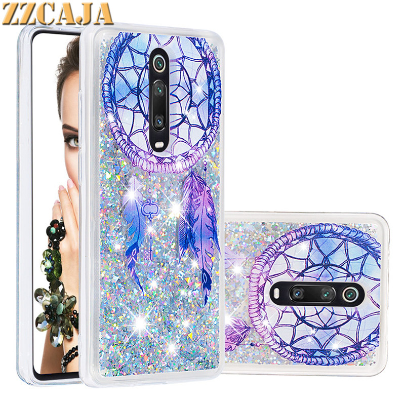 For Redmi K20 Pro Note 8 7 6 Pro Case Glitter Shiny Quicksand Soft Cover For Redmi Note 5A 4 4A 4X 7A 5 Plus S2 Y2 Phone Case image