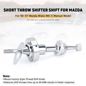 Image 2 - PQY Curto e Rápido Shifter para Mazda Miata MX5 90 91 92 93 94 95 96 97 RX7 86 91 PQY PDG07