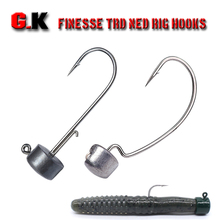 Jig Head Ned Rid Hook 1.5g2.5g3.g4.5g Artificial Ned Hooks Fishing Tackle For Trout Perch Zander Crappie Wobbler soft Bait Lure