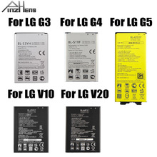 2019 PINZHENG Original Phone Battery For LG G3 G4 G5 V10 V20 Battery BL-51YF BL-53YH BL-42D1F  BL-44E1F BL-45B1F Batteries yiboyuan bl 53yh replacement 3000mah li ion battery for lg g3