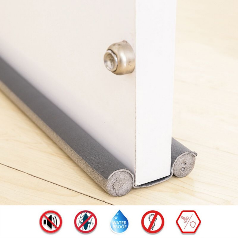 PVC Cloth Dustproof And Insect-Proof Windproof Door Seam Block Energy-Saving Sound Insulation Noise Reduction Door Weather Strip