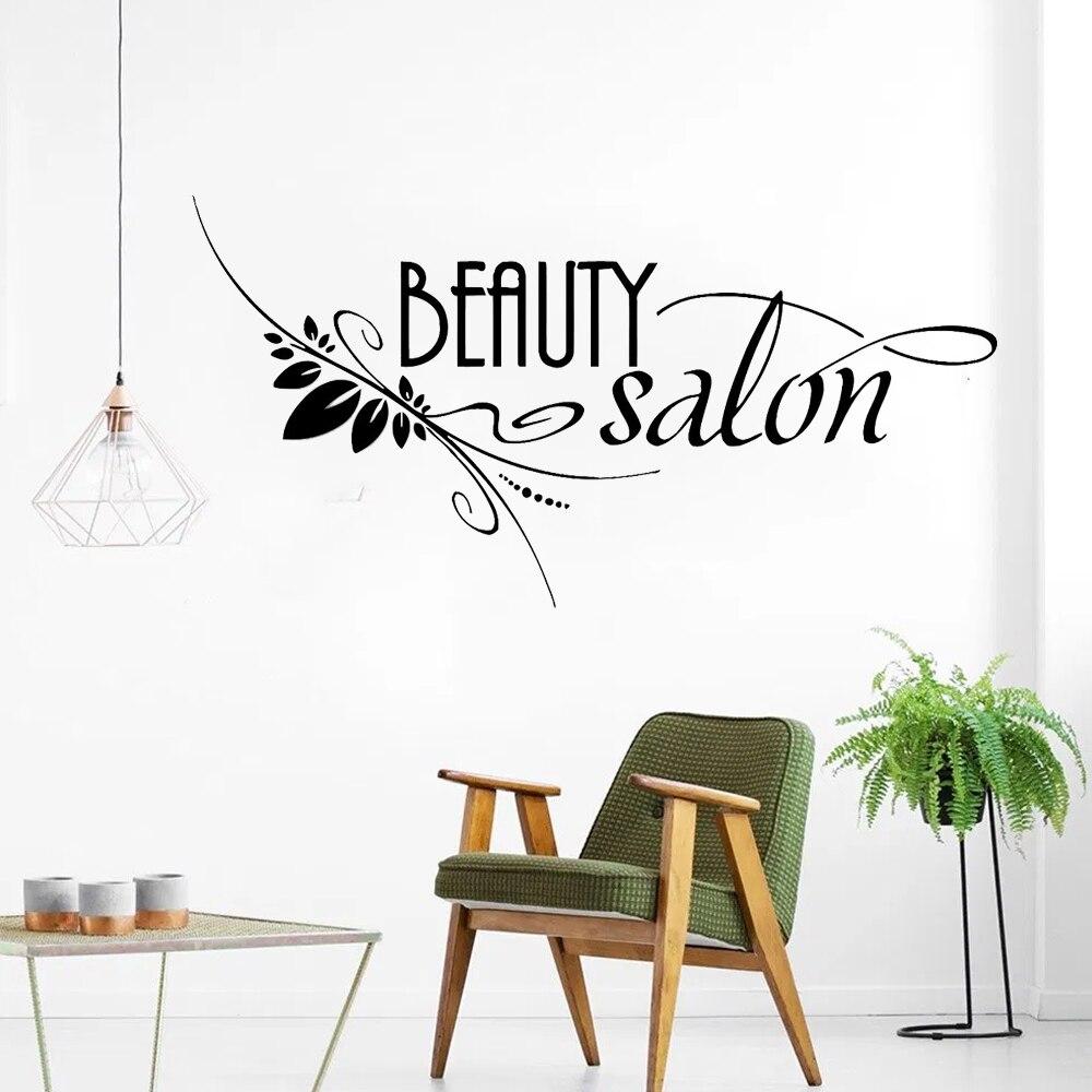 Barbershop Sign Window Decor Hair Salon Wall Window Decal Sticker Hair Stylist