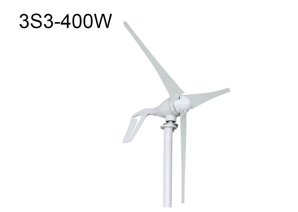 H13590c3e10b74b99810e2481cfccca02e - Small Wind Turbine Generator 400W Mini Windmill WindTurbine Controller 3/5/6 blades Home gerador eolico Charge for Marine Boat