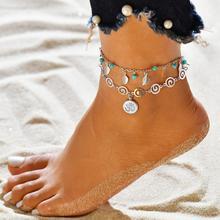 Модные новые аксессуары 3d символ кулон ножной браслет Национальный