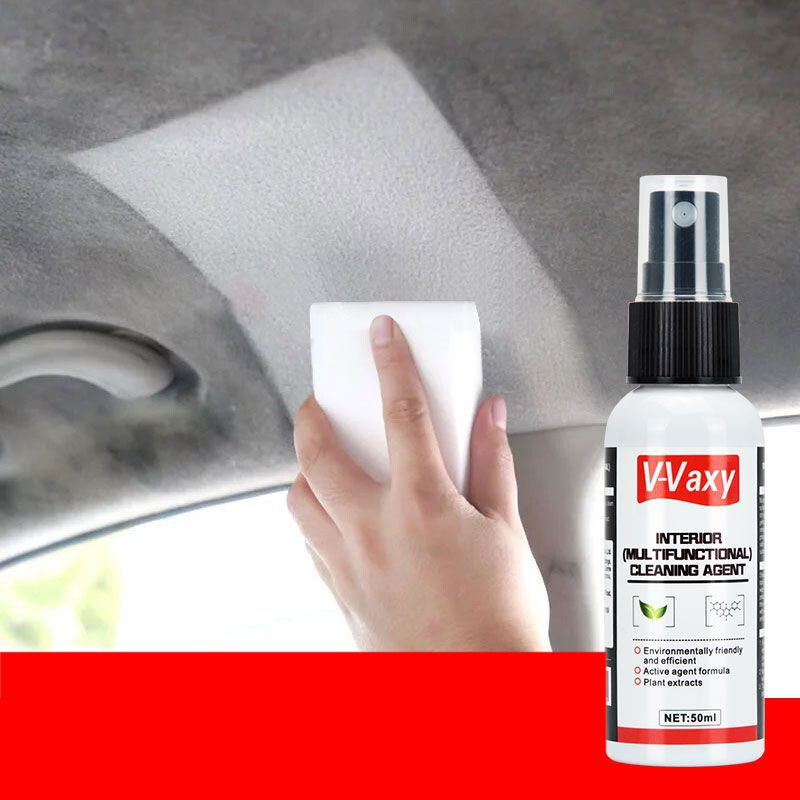 2019 Newly 50ml Leather Interior Cleaning Retreading Agent Dry Cleaning Foam Agent Interior Dry Cleaner Leather Cleaner