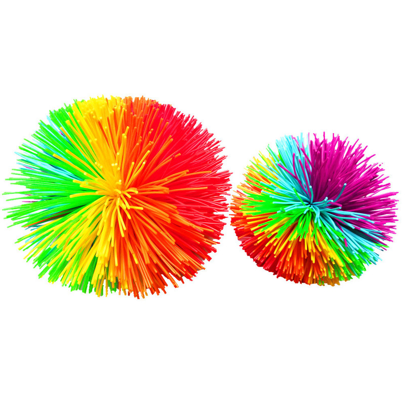 Squeeze-Toys Koosh-Ball-Toys Autism Rainbow-Fidget Stress-Relief Sensory Funny Baby Kids img4