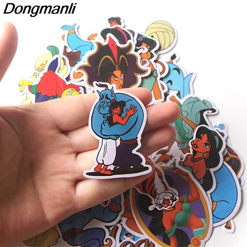 39 Pcs La Lampada Magica Sticker Impermeabile per Il Computer Portatile Moto Bagaglio di Skateboard Chitarra Montaggio Adesivo Graffiti Decalcomanie