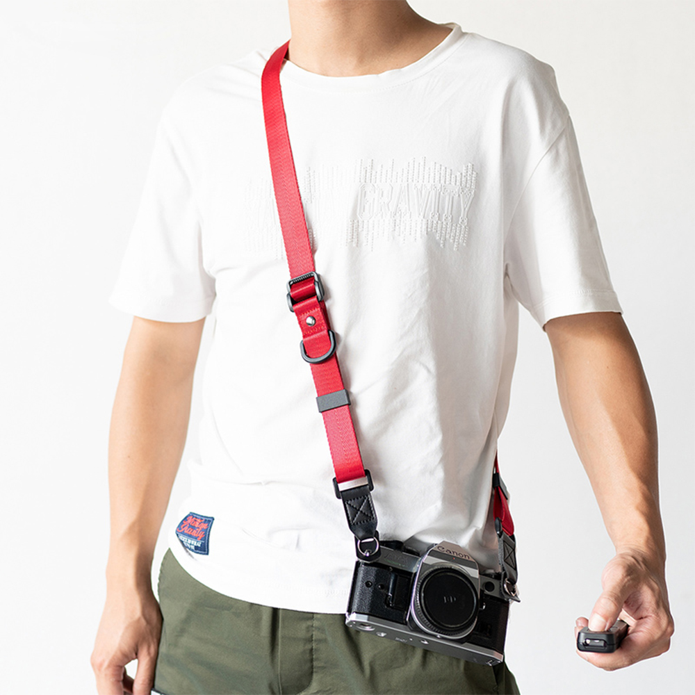 SLR Camera Strap Durable Adjustable Nylon Shoulder Neck Rope Belt Hanging for Sony Nikon Canon Digital Camera Outdoor Travel image