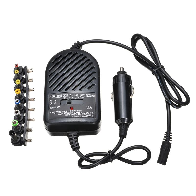 Универсальный USB порт автомобильное зарядное устройство DC адаптер питания с 8 съемные заглушки для hp ASUS DELL lenovo samsung ноутбука