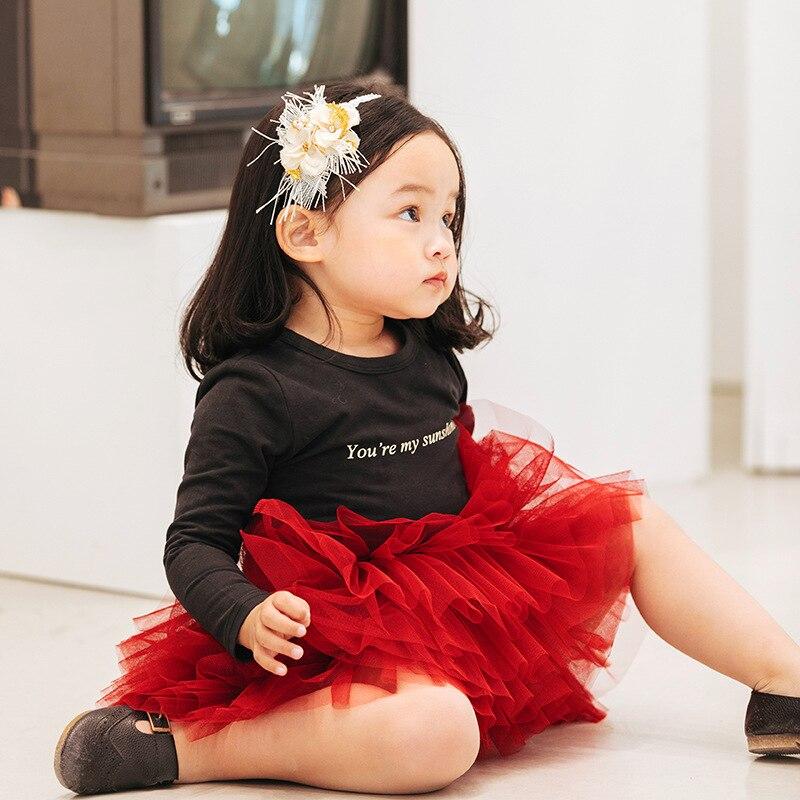 Fashion Girls Tutu Fluffy Skirt Princess Ballet Dance Tutu Mesh Skirt Kids Cake Skirt Cute Girls Clothes DT081 3