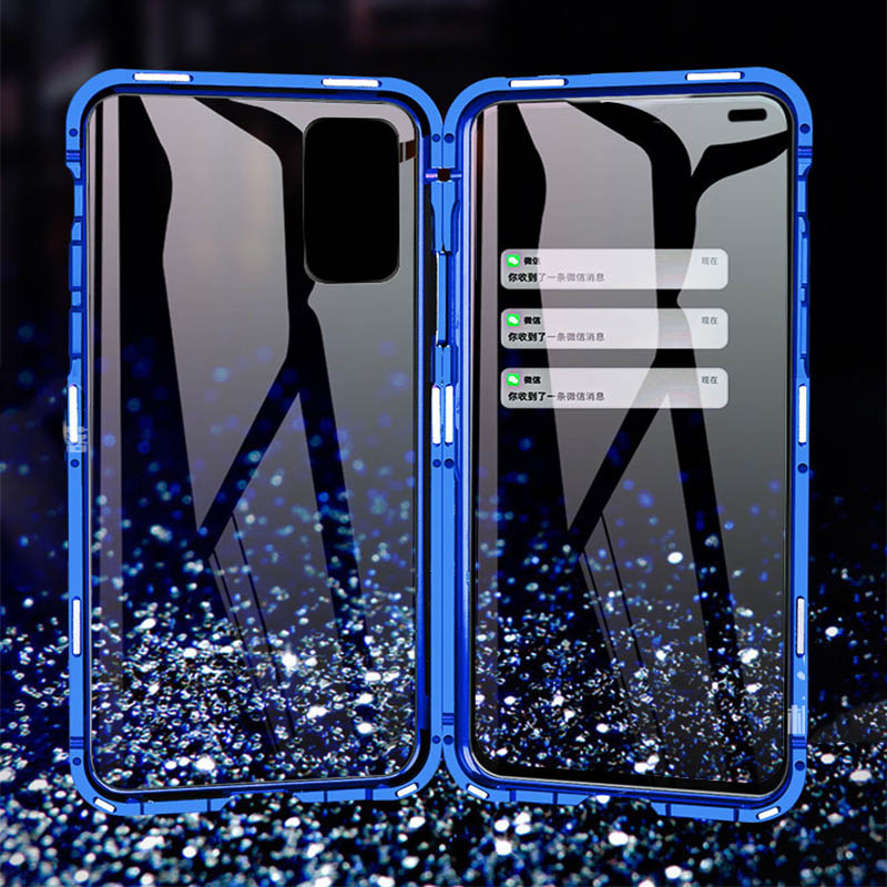 Metal Magnetic Case For Honor 20 V30 Pro Honor 10 Lite Phone Cover For Huawei Mate 20 30 Pro Mate 20 X 4G 5G Case Cover