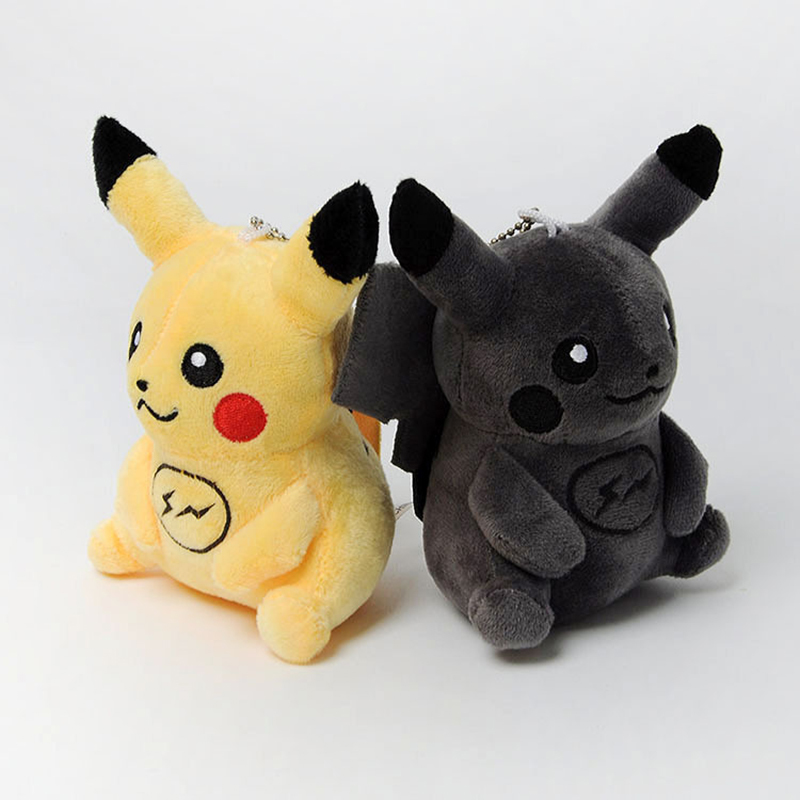 Takara tomy nova edição limitada pokemon tecido arte limitada graffiti pikachu boneca kawaii pelúcia chaveiro brinquedo presente das crianças
