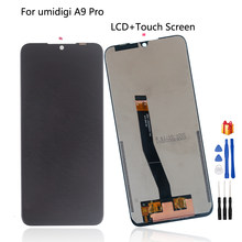 Original For UMI Umidigi A9 Pro LCD Display Touch Screen Assembly Repair Parts For UMI A9 PRO Screen LCD Display Free Tools