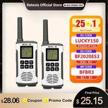 Retevis RT45 PMR Radio Walkie Talkie 2 pcs PMR PMR446 FRS A Portata di mano A due Vie Radio Communicator Famiglia Walkie talkie Walkie Talkie