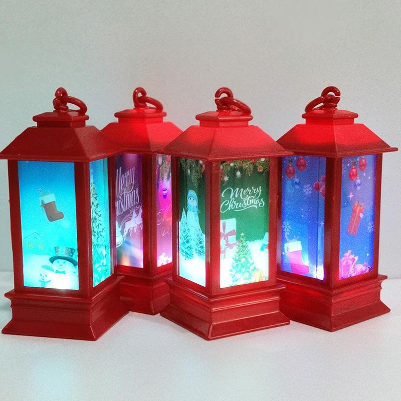 Christmas Luces LED Lighthouse Shape Fairy Lights Decorations For Home Christmas Tree Decoration Led Christmas Lights Indoor