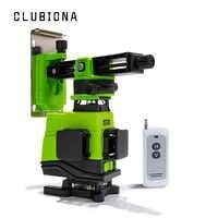Clubiona IE16 Allemand module laser Plancher et Plafond Puissant Lignes Vertes télécommande Laser Niveau Avec batterie Li-ion