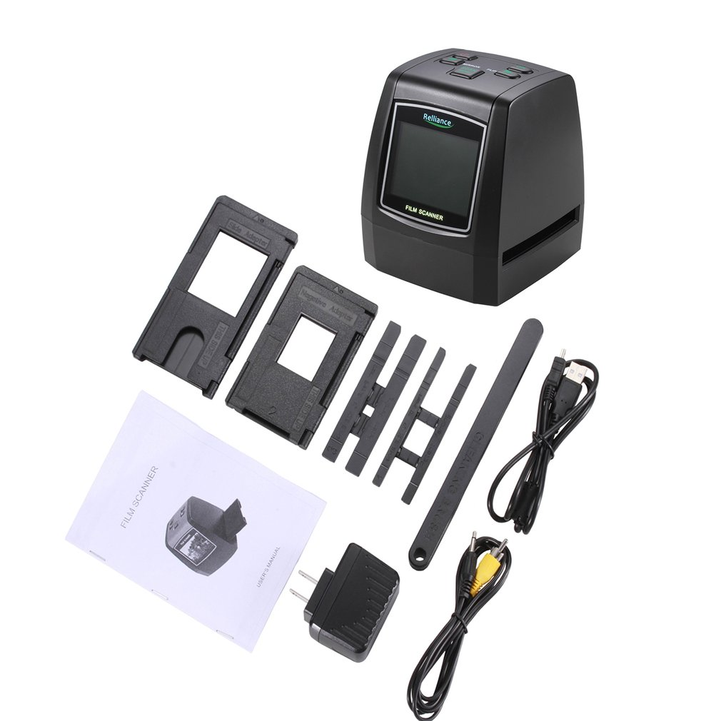 High Definition Film Scanner Fast Photo Printed High Resolution Photo Scanner USB 2.0 Film Converter 135mm/ 126mm/ 110mm/ 8mm|Scanners|   - AliExpress