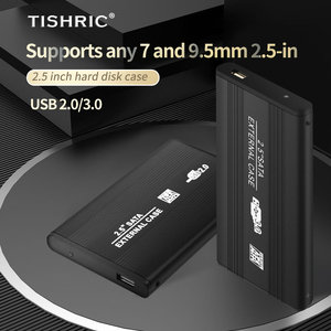 Чехол TISHRIC для внешнего жесткого диска 2,5 дюйма, чехол с адаптером Sata на Usb 3,0, чехол для жесткого диска, чехол для жесткого диска, бокс для жесткого диска, корпус для жесткого диска