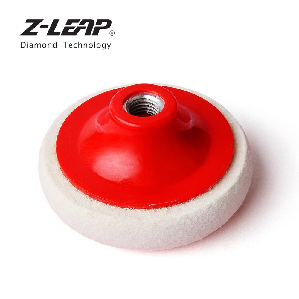 Flexipads 100mm 4 Pro-Wool Detailing Polishing Disc Pad Velcro/® Cutting /& Compounding