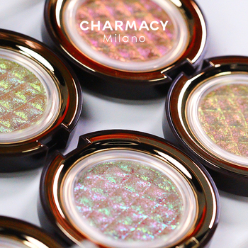 CHARMACY Shiny Eyeshadow Highlighter Make Up Contour Face Body Bright Cosmetic Chameleon Duochrome Glitter Eyeshadow Makeup 1