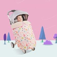 Зимний теплый флисовый конверт для младенцев, для новорожденных, Универсальный Коврик для коляски, подкладка для коляски, мягкая детская дорожная сумка для коляски, необычный чехол для ног, детская коляска, спальное одеяло, детская коляска, аксессуары