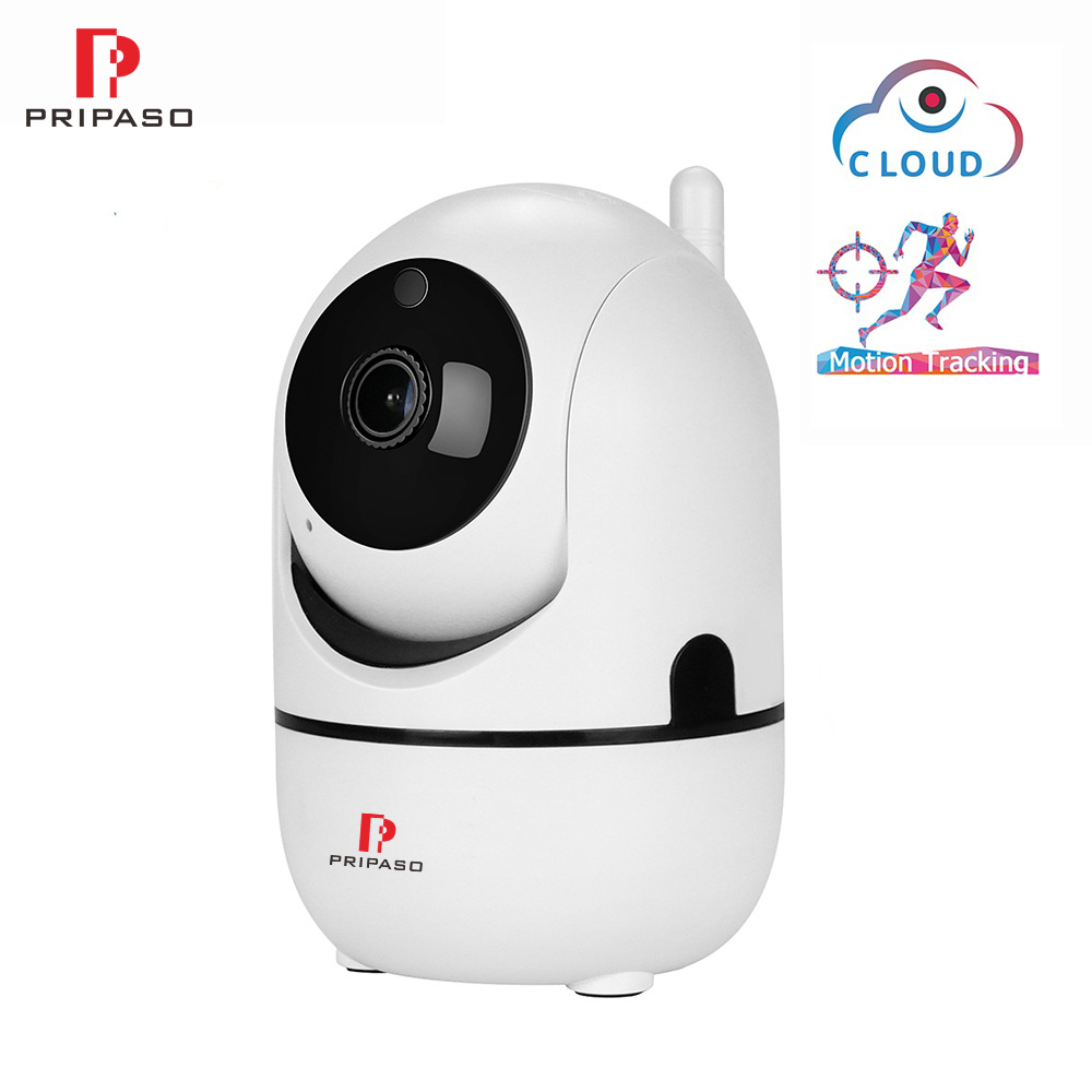 Pripaso HD 720P Cloud Wireless Indoor IP Camera Home Security Ptz IP Camera 1MP Night Vision CCTV WiFi Camera Baby Monitor Cam