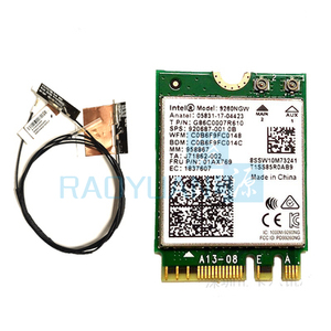 Image 4 - Wifi Card For Intel Dual Band AC 9260 9260NGW 9260AC 1.73Gbps  NGFF Key A E Wifi Card  802.11ac Bluetooth 5.0 for Windows 10