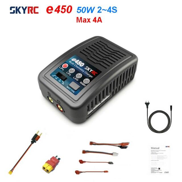SKYRC – chargeur de Balance multi chimique e450, 2S 3S 4s LiPo LiFe LiHV 6S 8S NiMH, chargeur de Balance de batterie AC 110V 240V