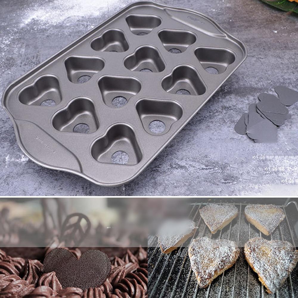 Moomin Baking Form Heart Shaped Garden