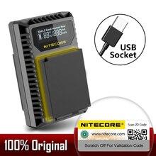 NITECORE FX1 Dual Slot USB Charger สำหรับ Fujifilm NP W126 NP W126S แบตเตอรี่กล้อง X Pro1 X T1 XE1 XE2 XA1 XA2 XM1 HS30 X T2 X E2S
