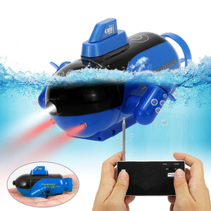 Mini Radio Racing RC Submarine Toy Underwater Submarine Bath Toys Remote Control Boat In Bathtub Pools Lakes Boat Gifts For Kids