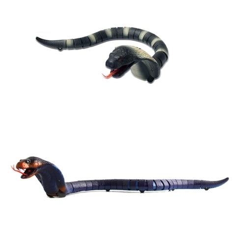 brinquedo engracado eletrico complicado infravermelho controle remoto animal cobra
