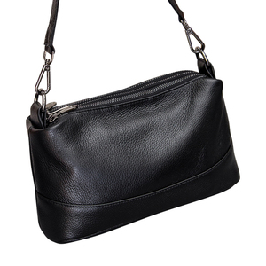 Image 2 - Genuine Leather Shoulder Bag Womens Crossbody Bags for Women Luxury Handbags Fashion Female Purse Totes Messenger Bag