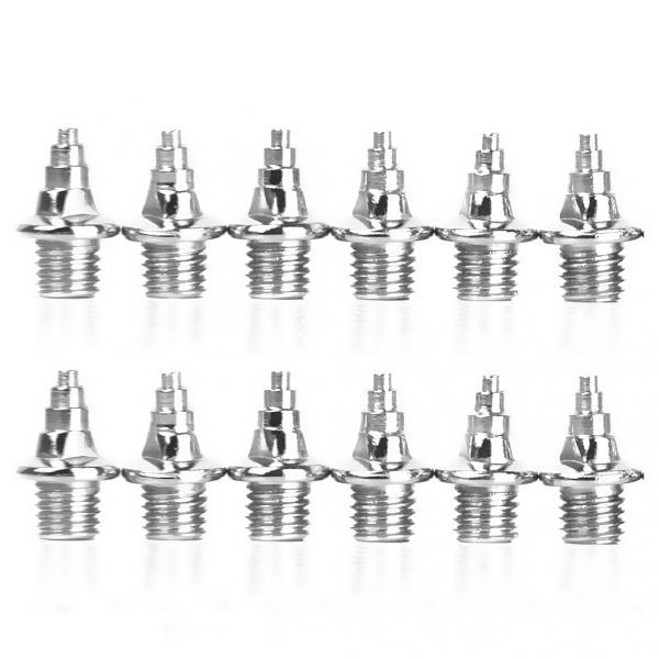 24pcs Sports Track Running Shoes Spikes Replacement -Xmas Tree 8mm