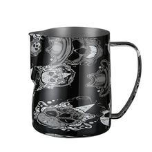 Кофе эспрессо пенозбиватель для молока для латте арт, нержавеющая сталь, 600 мл