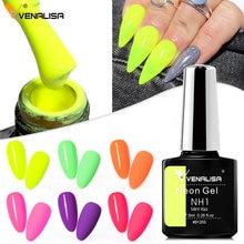 Venalisa – vernis à ongles en néon hybride, Gel UV Semi-Permanent à trempage, émail, 7.5ML