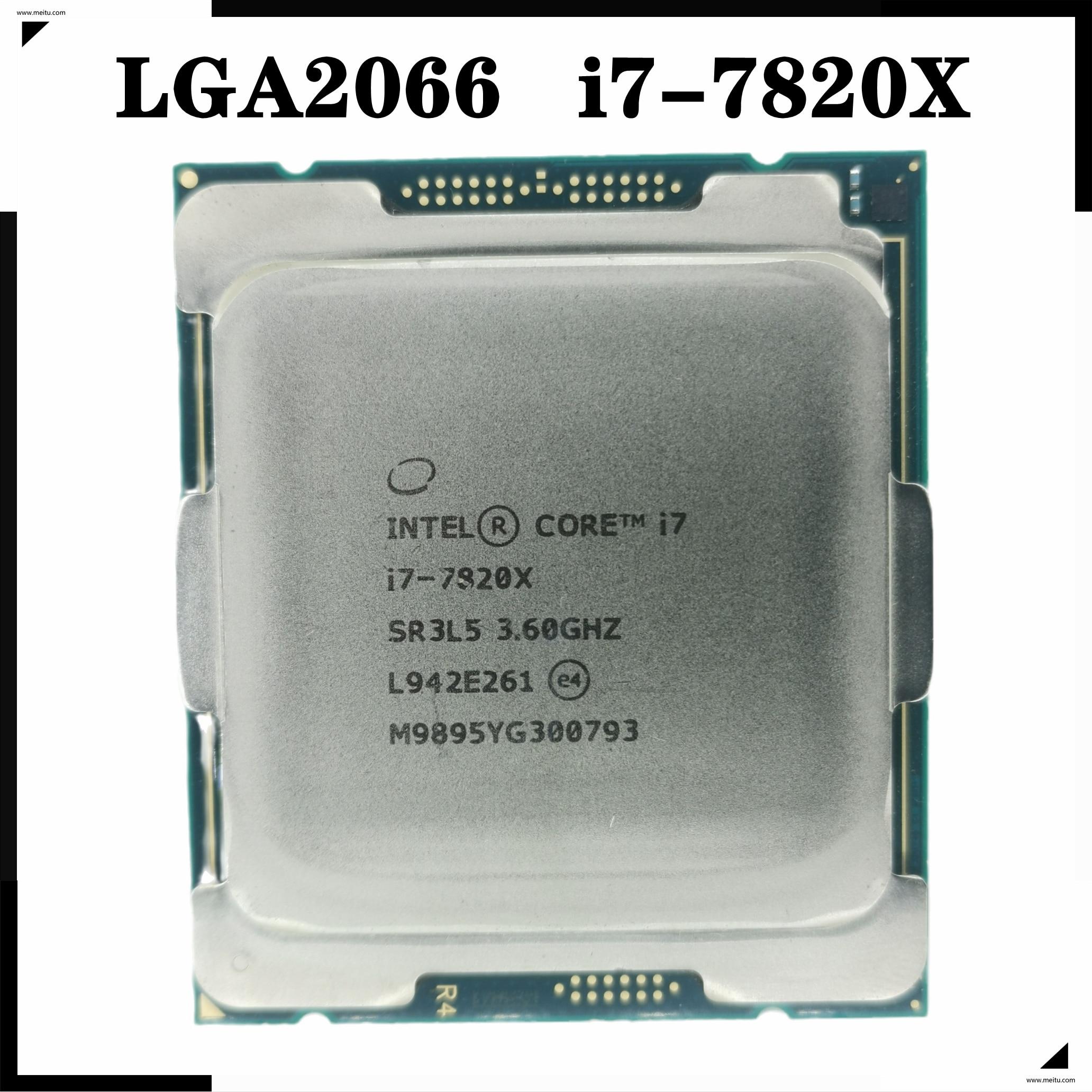 [해외] 인텔 코어 I7 7820X X 시리즈 프로세서 11M 캐시  3.60 GHZ TDP 140W 8 16 스레드 - 인텔 코어 I7 7820X X 시리즈