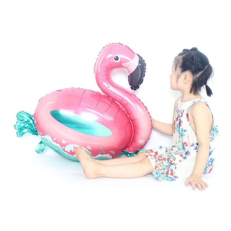 Child Gifts Toys New Flamingo Balloons Tree Foil Birthday Wedding Summer Party Children's Day Decor Helium Cartoon Hat