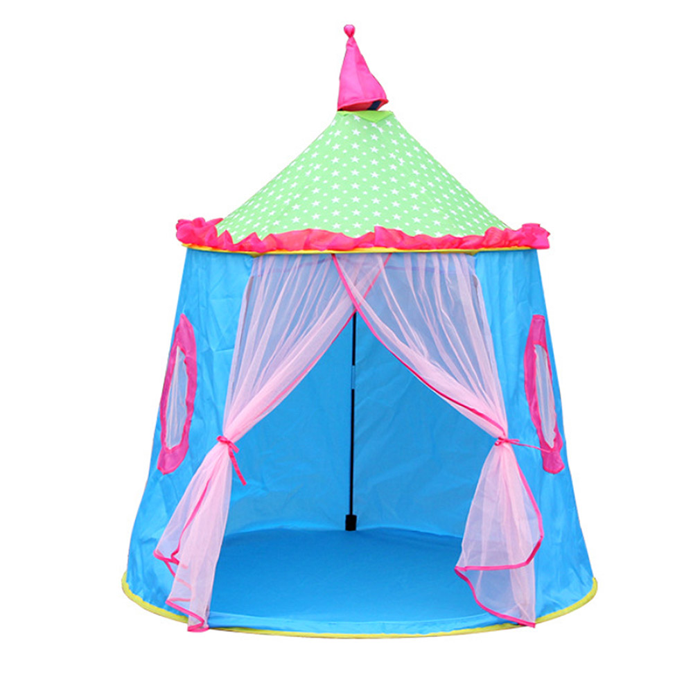 Portable Play Tent Baby Ball Pool for Kid Pink Blue Children Toy Tents
