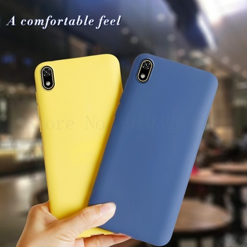 Liquid Silicone Case for Huawei Y5 Y5 Prime Y5 Lite 2018 Shockproof Bumper Cover Luxury TPU Phone Cases for Huawei Y5 Y 5 2019 image