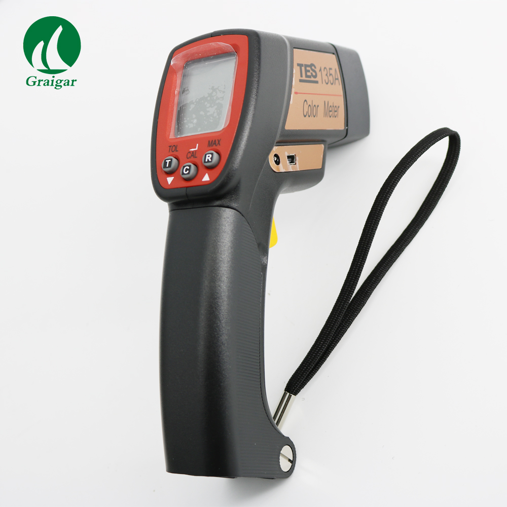 TES 135A Color Meter Portable Color Analyzer|Level Measuring Instruments| |  - title=