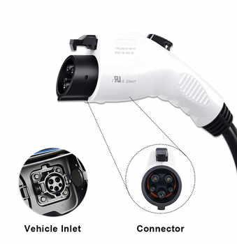 J1772 EVSE input ev plug Duosida level 2 EV Charger Type 1 AU plug 5M cable for electric car Charging mode 2 plug STOCK!