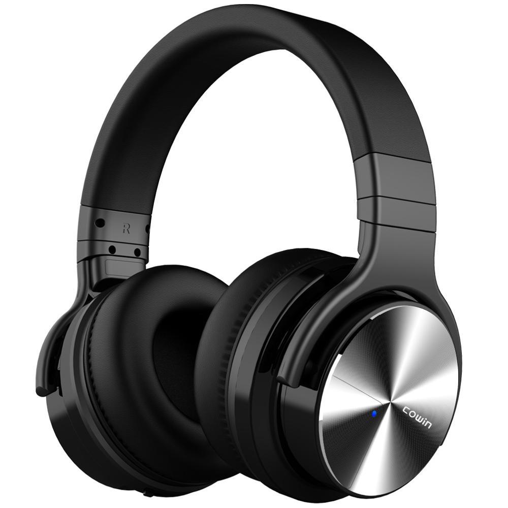 Casque HiFi sans fil, basses stéréo, ANC, suppression du bruit, casque de jeu de voyage avec étui de casque