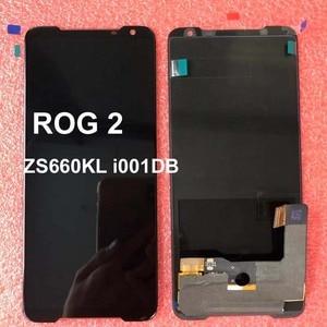 """Image 5 - のためのオリジナル新 6.59 """"asus rog 電話 2 Phone2 phoneⅱ ZS660KL amoled 液晶表示画面 + タッチパネルデジタイザアセンブリ修理"""
