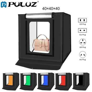 PULUZ 40*40cm 16inc Mini Photo Studio Box Lightbox Photograghy Softbox Led Photo Lighting Studio Shooting Tent Box Kit Light box - DISCOUNT ITEM  20% OFF All Category